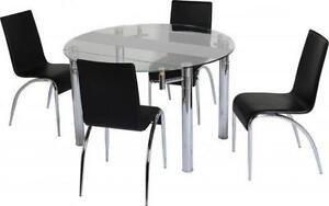 Extending Round Glass Dining Tables