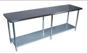 Stainless Steel Restaurant Table