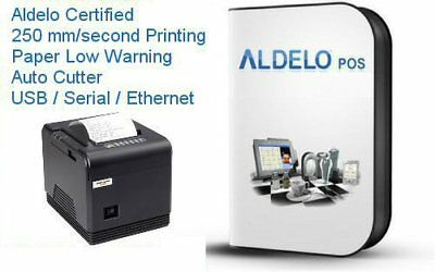 Aldelo Pro Pos System Restaurant Pos Software - Very Fast Thermail Printer