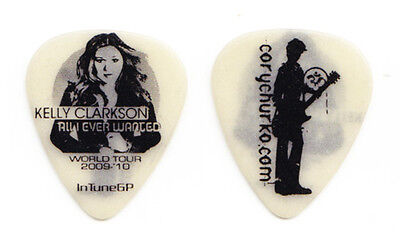 Kelly Clarkson Cory Churko Glow Guitar Pick - 2009 All I Ever Wanted Tour
