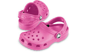 NEW GENUINE CROCS KIDS CLASSIC CAYMAN - ALL SIZES & COLOURS AVAILABLE.