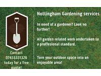 Nottingham Gardening & Landscaping Services