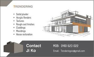 Looking for experienced renderer Kooyong Stonnington Area Preview