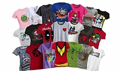 Ladies Marvel Superhero T-Shirts Mystery Deal of 2 (Different)](Ladies Superhero)
