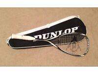 Dunlop BlackStorm 4D Titanium Squash Racket