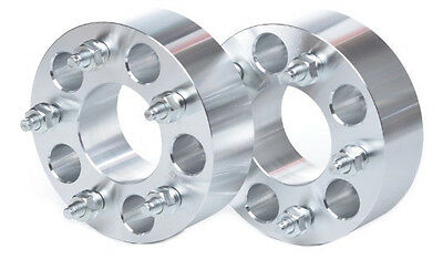 "2 WHEEL SPACERS ADAPTERS 5x135 TO 5x4.75(5x120) 1.25"" THICK 14x2 STUDS MOST FORD"