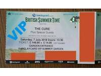 The Cure + Guests !!! VIP!!! Hyde Park 7th July