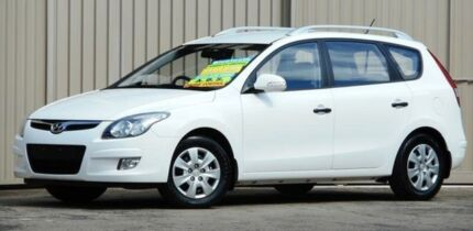 2012 Hyundai i30 FD MY12 CW Sportswagon 2.0 White 4 Speed Automatic Wagon