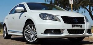 2015 Suzuki Kizashi FR MY14 Sport Touring White 6 Speed Constant Variable Sedan Glendalough Stirling Area Preview