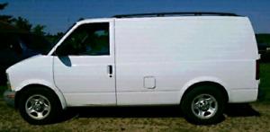2005 chevy astro cargo van.  Reduced price