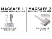 MacBook charger, MacBook power adapter, MagSafe1 and magsafe2 compatibe