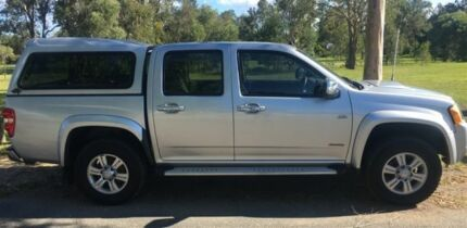 2008 Holden Colorado RC LT-R (4x4) White 4 Speed Automatic Crew Cab Pickup