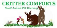 Small Animal Boarding