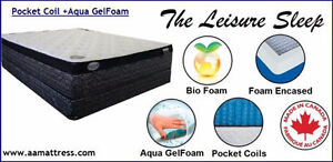 NEW DOUBLE MATTRESSES from $140 +Full BOXPRINGS $80. No Tax Sale London Ontario image 7