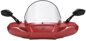 WINDPRO WINDSHIELD PAINTED - DESERT RED