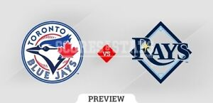 Blue Jays vs Tampa Bay Rays (2-4 tickets) Sept 3rd to 5th