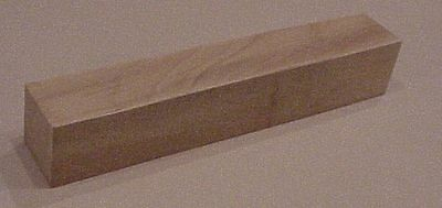 "3"" x 3""  Wood Turning Blank - 1 ea (Beech,Ash,Cherry,Birch, Maple, or Red Oak)"