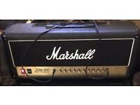 Marshall vintage reissue JCM900 head