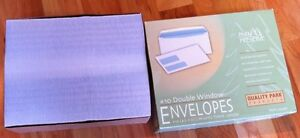 #10 Double Window envelopes - Price Reduced