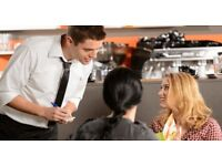 3 experienced waiter/waiters wanted urgently great pay full/part time based in clapham junction