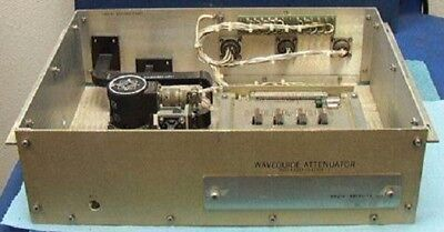 15 Ghz Waveguide 2x Attenuator Switch Raytheon Ckum