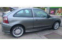 MG sports, 53 reg 3 doors, 1.4 manual long mot £500