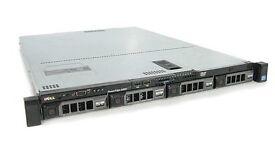 Dell Poweredge Server Rack 410 2 Quad Core X5570 INTEL 2x 2.9GHz Total 8 Cores Raid controller