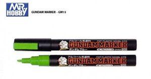 Fluorescent Green GUNDAM PAINT MARKER PLASTIC MODELING ACCESSORY GM15