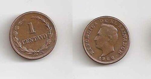 El Salvador 1 centavo 1968