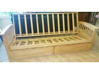 Wooden Futon Sofa Bed