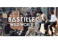 Bastille Wild World Tour London 02, Wed 2nd Nov