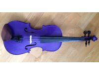 3/4 Violin (Stentor Harlequin Purple)