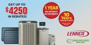 Furnace and Air conditioner Fall promotion Get upto $4250 REBATE