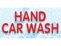 Hand car wash staff wAnted, can provide accomadation