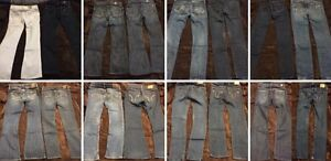 A&F/HOLLISTER/GUESS/MARCIANO/BEBE/R&R/AE JEANS, ALL 18 FOR $230