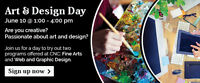 Art and Design Day at CNC