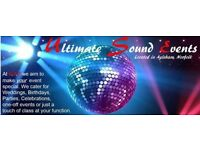 Ultimate Sound Events - mobile disco/evening entertainment