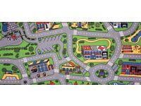 kids playmat with roads etc on it