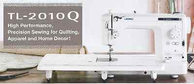 Juki TL-2010Q  Quilting Machine w/ Free Needles and Bobbins+Bonus Package