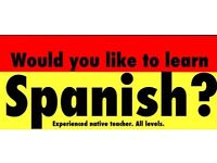 Native teacher. Spanish lessons.