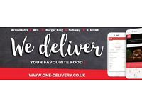 FAST FOOD DELIVERY DRIVER WANTED URGENT Delivering McDonalds, KFC, BK,