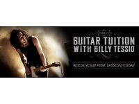 Guitar Tuition Lessons with Billy Tessio