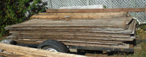 Over 40 full sheets used plywood