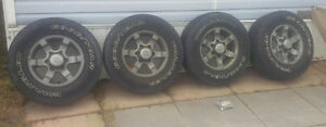 LT235 75/15 - Truck Tires mounted on Guinune Nissan Rims