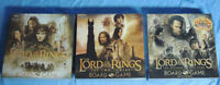 Three Lord of the Rings Board Games: