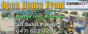HUGE CONDOS & TOWN HOME SELLING EVENT in BURLINGTON!