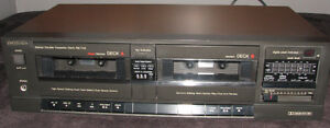 Technics Dual Cassette deck RS-T22
