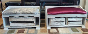 entry way / storage benches