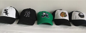Easy Fitted Hats (Chicago, Yankees, Sabres, Fighting Irish)