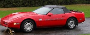 Corvette 1986  Convertible Red Pacer  (still in storage)